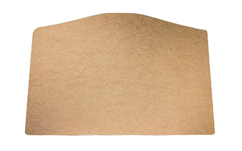 Cubremaletero de fibra de madera sin tapizar
